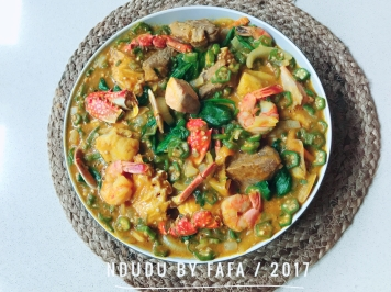 GHANAIAN OKRO SOUP RECIPE